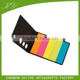 self-adhesive Neon color PET index sticky notes