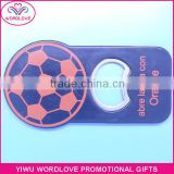 Personalized Football Shaped Metal Can Tab Bottle Openers