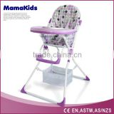 New fashion Simple Fold High baby Chair/folding baby high chair/baby feeding chair portable