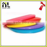 Outdoor toy full printing colorful eco-friendly foldable rubber soft silicone frisbee fan