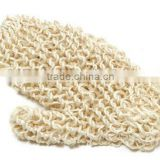 Natural SISAL fiber GLOVE Mitt SCRUBBER BATH shower exfoliate Body