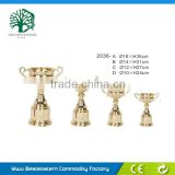 Football Metal Trophy, Trophy Cup Silver Color, Metal Trophies