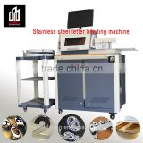 2016 new design stainless steel channel letter bender machine for advertising letter signs
