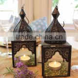 Moroccan & Arabic elegant brass lamp copper finished Lanterns-Wholesale Indoor Decor Lantern- Moroccan Style