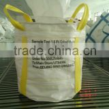 circular PP bulk container bag with PE liner,dust cloth,loading weight 2 ton,for coal,sand,cement