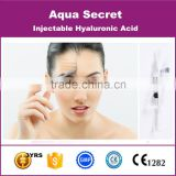 pure cross-linked hyaluronic acid plasma face lift