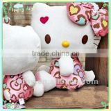 Hot sale custom high quality hello kitty plush toy