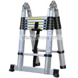 New type 3.8m multi-purpose aluminum telescopic aluminum ladder /folding ladder EN131 standard