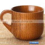Wooden coffee mugs