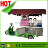 Pancake Kiosk New Electric Mobile Kitchen Food Ice Cream Carts