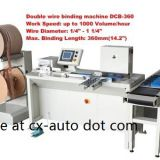 Double wire binding machine DCB-360