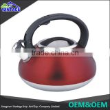 Wholesale new design kitchenware indoor non-electric whistling tea kettle