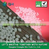 100% biodegradable & compostable plastic raw material pla granule GH401 for injection grade food grade