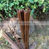 "84cm/33"" 40-45# Carbonized Self Nocks Bamboo Arrow Shafts With Varnish"