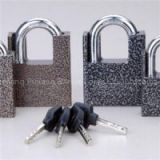 Shackle Protected Plastic Painted Disc Padlock