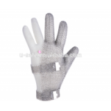 Hot sell American Materials100% Real Steel Mesh Stainless Steel Mesh Anti-cutting breathable butcher safety hand work glove