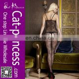 Perspective latest design sheer nylon bodystocking