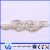 New luxury bride hair brides with rhinestone jewelry, wedding dress l accessories