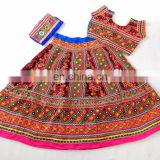 Navratri Gujarati Chaniya Choli- Ethnic rabari Work Chaniya Choli- Traditional Chaniya Choli
