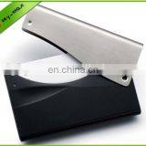 New design business card holder double id card holders back stick card holder