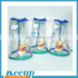 Hot Sale Transparent PVC Cosmatic Bags Ziploc For Promotional Gift