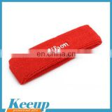 Custom promotional embroidered towel basketball football headband