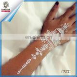 temporary tattoo white skin hand pattern wedding flower women body tattoo fake lace gloves wedding sticker unique stickers art