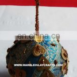 Handmade Balls, Embroidery Tree Hangings