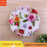 TX8008 PLASTIC SMALL SIZE ROUND PLATE CHEAP PLATE FOOD PLATE