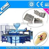 Hot Selling Single Color PVC Airblowing Machine, PVC Machines Shoe Sole Making Machine