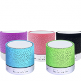 The new A9 crackle multicolored wireless portable bluetooth speaker card with a low voice gun mobile phone outdoor gift