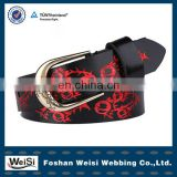 2013 newest designer pin buckle female chastity belt