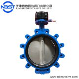 LTD71XR-10R Manual Operated Butterfly Valve Lug Type Waste Water