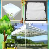 waterproof sun shade vinyl coated woven polyester fabric used to folding tent/inflatable dome tent