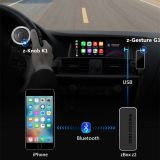 New product Wireless Carplay Z-Box Android Auto Airplay Dongle Phone Link Gesture Recognition for audi