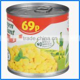 160g new pack product frozen canned sweet corn