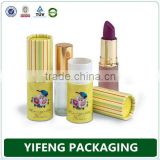 Wholesale Custom Printing Eco-friendly Paper Lipstick Tube For Women