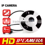 Home Surveillance 2MP 1.7mm Fisheye Lens 1080P Full HD Panorama IP Camera With IR Night Vision Support Onvif P2P