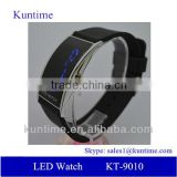 China Supplier Watches Men Digital LED Watch Silicon band watch ,12/24-hour Format Selectable,Day/Date/Year Display