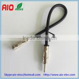 Universal Vehicle motorola aftermarket male plug to ISO factory female jack car radio antenna adaptor coaxial cable