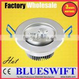 Color Temperature Adjustable 3w 3x1 LED Downlight                                                                         Quality Choice