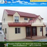China prefab villa prefabricated house Manufacturer/china cheap two floors prefabricated villa house