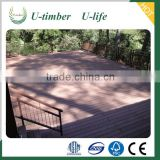 Environmental friendly cheap price WPC wooden fence panels for sale