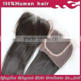 accept customization natural unprocessed hot sell long lasting remy brazilian human hair short lace closure