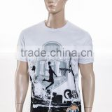 Digtal Printed 100% Polyester Custom Sublimation Cotton T Shirt Design Sportswear                                                                         Quality Choice
