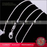 2014 SGS Certified 2014 Classy silver snake chain necklace C008                                                                         Quality Choice