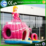 2016 New design inflatable bouncy castle bounce house party inflatable disco dome castle