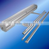 adjustable pipe roll up banner stands