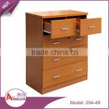 wholesale living room cabinets 4 layers chest drawer cheap mdf wooden chest of drawers                                                                         Quality Choice