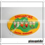 Factory Price Eco-friendly Oval Shape ATBC-PVC 3D Placemats For Singapore